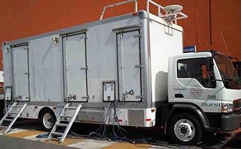 unidad movil de televisión hd