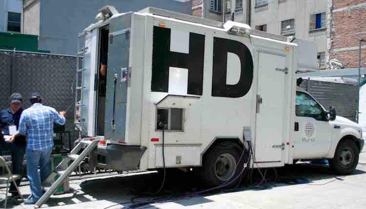 unidad movil de tv HD